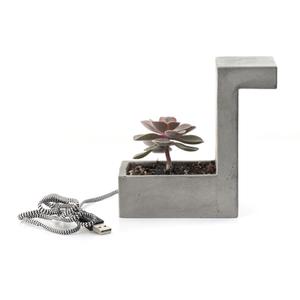 Concrete Desk Blok Lamp: Image 3
