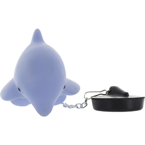 Dolphin Moodlight Bath Plug - Blue: Image 3