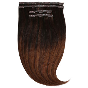 "Beauty Works Jen Atkin Invisi-Clip-In Hair Extensions 18"" - Beverly Hills JA5"