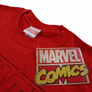 Marvel Spiderman Lines Men's T-Shirt - Red: Image 3