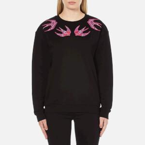 McQ Alexander McQueen Women's Patch Classic Sweatshirt - Darkest Black