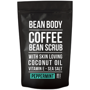 Bean Body Coffee Bean Scrub -kuorintavoide 220g, Peppermint