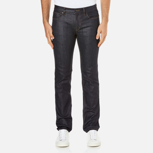 HUGO Men's Hugo 708 Straight Leg Jeans - Raw Wash