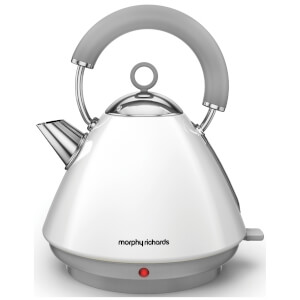 Morphy Richards 102031 Accents Pyramid Epp Kettle - White