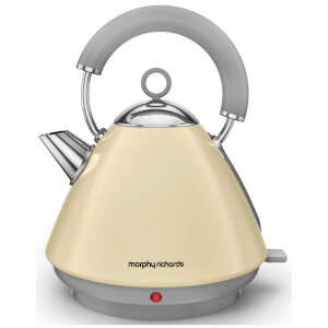 Morphy Richards 102032 Accents Pyramid Epp Kettle - Cream