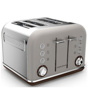 Morphy Richards 242102 Accents 4 Slice Premium Toaster - Pebble