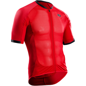 Sugoi Men's Climber's Jersey - Chilli Red