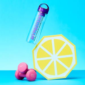 Myprotein Fruit Infuser-Wasserflasche - Pink