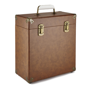 GPO 12 Inch Vinyl Case - Brown