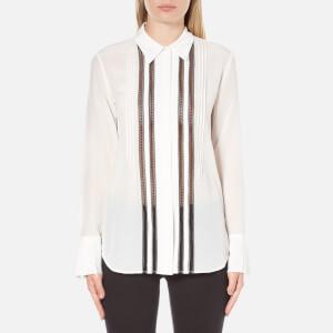 Theory Women's Mosaic Alwinth Shirt - Ivory