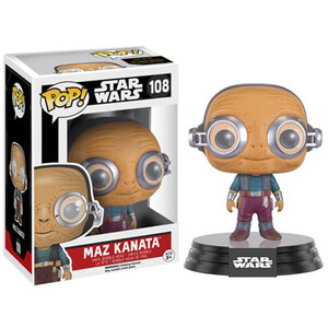 Star Wars: Das Erwachen der Macht (The Force Awakens) Maz Kanata Pop! Vinyl Figur