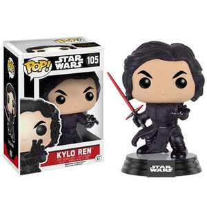 Figura Pop! Vinyl Kylo Ren (sin máscara) - Star Wars: Episodio VII
