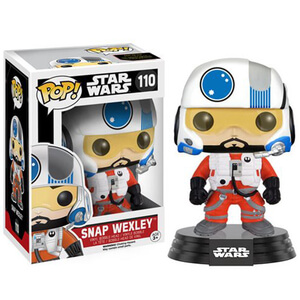 Star Wars: The Force Awakens Snap Wexley Funko Pop! Vinyl