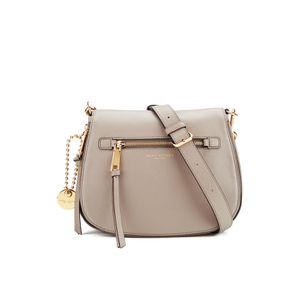 Marc Jacobs Women's Recruit Saddle Bag - Mink