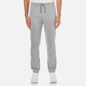 BOSS Green Men's Hadiko Cuffed Sweatpants - Grey