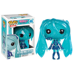 Vocaloid Crystal Hatsune Miku Pop! Vinyl Figure