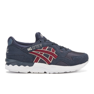 Asics Kids' Gel-Lyte V PS Trainers - Indian Ink/Burgundy