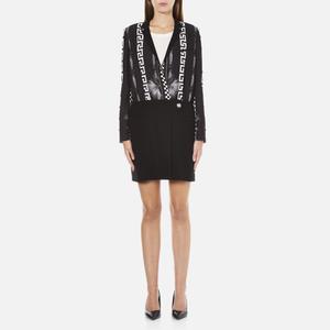 Versus Versace Women's Print Shirt Dress - Black/White