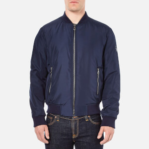 Versace Collection Men's Bomber Jacket - Blue