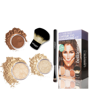 Bellapierre Cosmetics All Over viso highlight & Contour Kit - Fair