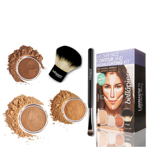 Bellapierre Cosmetics All Over viso highlight & Contour Kit - profondo