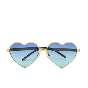 Wildfox Women's Lolita Deluxe Sunglasses - Gold/Gold Mirror
