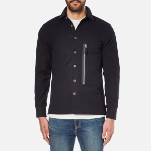 A Kind of Guise Men's Maschad Shirt Jacket - Dark Navy