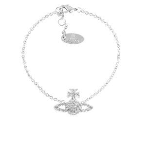 Vivienne Westwood Jewellery Women's Grace Bas Relief Bracelet - Crystal