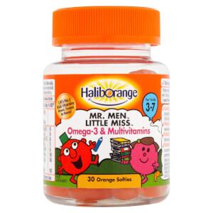 Haliborange Mr Clever Omega 3 & Multivitamins Softie - 30 Orange Softies