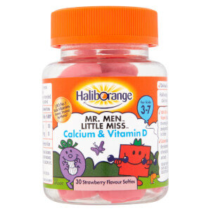 Haliborange Mr Strong Calcium & Vitamin D Softie - 30 Strawberry Softies