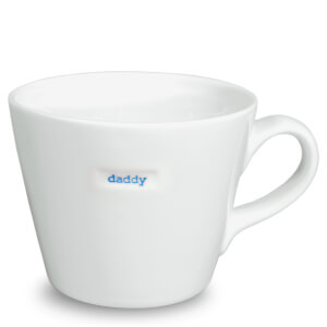Keith Brymer Jones Daddy Bucket Mug - White