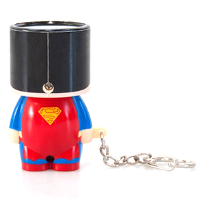 Superman Mini Look-Alite Keychain: Image 3