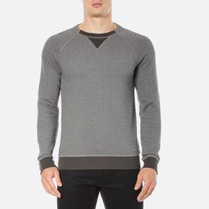 BOSS Orange Men's Warys Crew Neck Sweatshirt - Grey