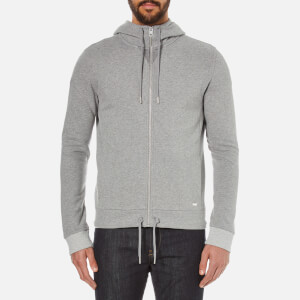 BOSS Orange Men's Ztager Zipped Hoody - Grey