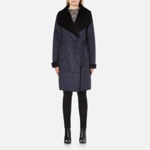 Vero Moda Women's Janice 3/4 Jacket - Navy Blazer