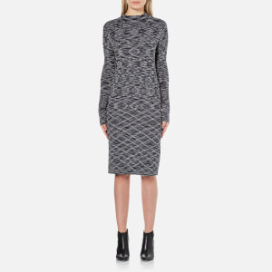 Vero Moda Women's Adinah Mila Long Sleeve Dress - Navy Blazer