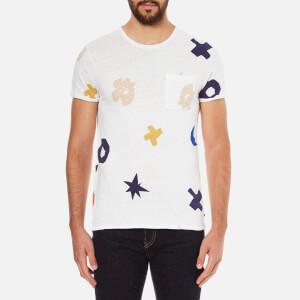 Scotch & Soda Men's Allover Print T-Shirt - White