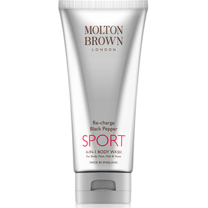 Molton Brown Re-Charge Black Pepper SPORT 4-in-1 Body Wash (200ml)