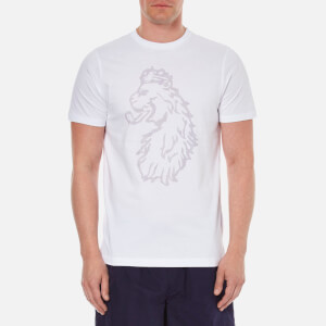 Luke 1977 Men's Pie Chart Printed Crew Neck T-Shirt - White