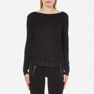 ONLY Women's Porto Long Sleeve Jumper - Black