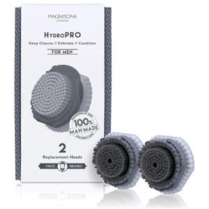 Magnitone London HydroPRO Brush Head for Men (x 2)
