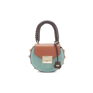 SALAR Women's Mimi Mini Bag - Tan/Multi