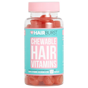 Hairburst Strawberry Chewable Vitamin - 60 kapsler