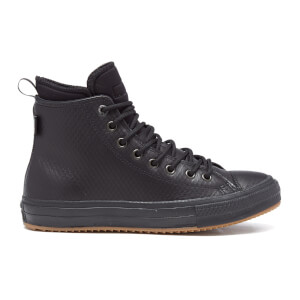 Converse Men's Chuck Taylor All Star II Leather/Neoprene Boot Hi-Top Trainers - Black Monochrome