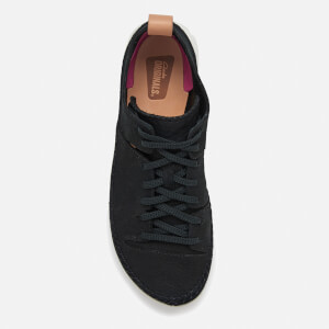 Clarks Originals Women's Trigenic Nubuck Suede Trainers - Black: Image 3