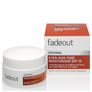 Fade Out ORIGINAL Even Skin Tone Moisturiser SPF 15 50ml