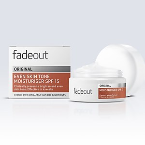 Fade Out ORIGINAL idratante uniformante SPF 15 50 ml