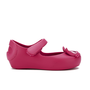 Mini Melissa Toddlers' Ultragirl Kitty 16 Ballet Flats - Bright Pink