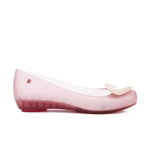 Melissa Women's Alice Ultragirl Ballet Flats - Blush Heart