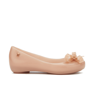 Mini Melissa Kids' Ultragirl Tie Ballet Flats - Blush
